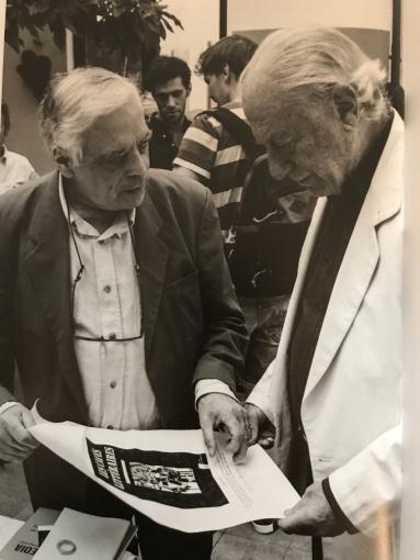 Gérard-Georges Leamire et Umberto Mariani