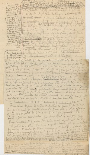 Proust manuscrits